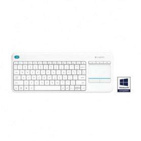 Logitech K400 Plus - Clavier sans fil avec touchpad