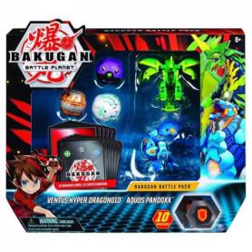 BAKUGAN Battle Pack - Modele 11 - 3 Bakugan classiques