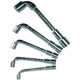 FACOM Jeu de 5 clés a pipe + 5 clés débouchées