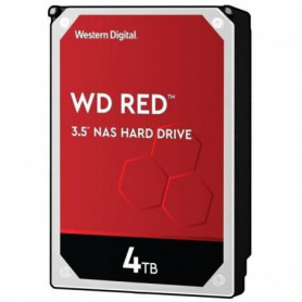 WD Red - Disque dur Interne NAS - 4To - 5 400 tr/min - 3.5