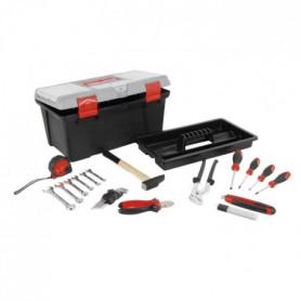 COGEX Caisse a outils 25 pieces + organiseur