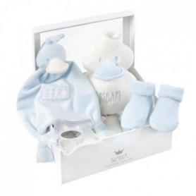 BAMBAM Boîte cadeau bleue - Des la naissance