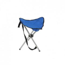Tabouret de campling pliable 32x32x43cm bleu