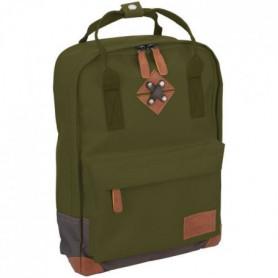 ABBEY Petit sac à dos24 x 10 x 33 cm - Vert Kaki