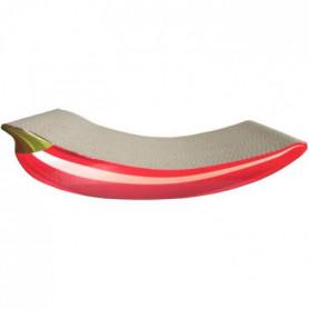 AIME Griffoir carton - Planche a gatter 100% recyclé, piment