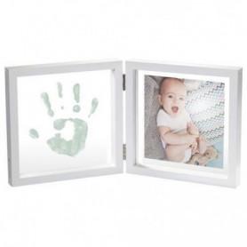 MY BABY STYLE Cadre transparent personnalisable empreinte bébé