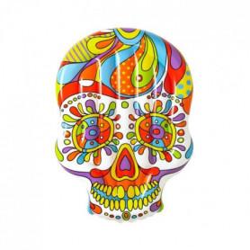 BESTWAY Ile gonflable Crâne Mexicain Fiesta Skull 193 x 141 cm