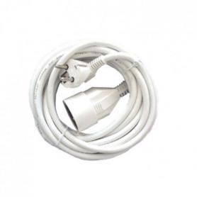 CHACON Prolongateur HO5VVF 3 x 1,5 mm²- 3 m - Blanc