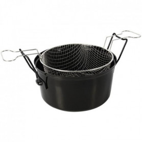 Crealys Friteuse - 505629 - Ø28Cm Emaille Induction