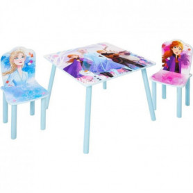 DISNEY FROZEN Ensemble table et 2 chaises La Reine des Neige