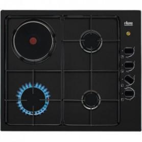 FAURE FGM64300B - Table de cuisson mixte gaz / électrique
