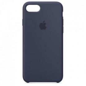 Coque en silicone pour iPhone8/7 - Bleu nuit