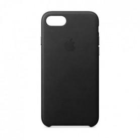 Coque en cuir pour iPhone8/7 - Noir
