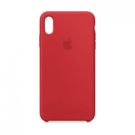 Coque en silicone pour iPhone XS Max - (PRODUCT)RED