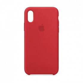 Coque en silicone pour iPhone XS - (PRODUCT)RED