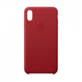 Coque en cuir pour iPhone XS Max - (PRODUCT)RED