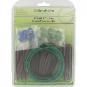 JARDIN PRATIC Kit réparation avec câble d'installation - 0,93 mm² x 5m
