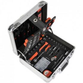 MANUPRO Valise en aluminium a outils 725 outils et accessoires