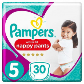Pampers Premium Active Fit Pants Taille 5 11-18 kg