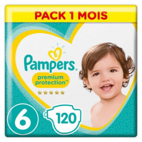 PAMPERS Premium Protection Taille 6 15+ kg