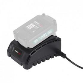 POWERPLUS Scie sabre + Batterie + Chargeur 18V