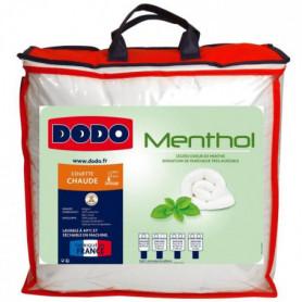 DODO Couette Menthol - 100% polyester traité - 200x200 cm