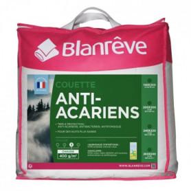 BLANREVE Couette chaude 400gm2 Anti-Acariens 220x240 cm