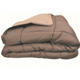 Couette chaude Microfibre 400 gr/m² CALGARY Taupe