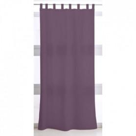 Rideau à Pattes 140X260 uni violet
