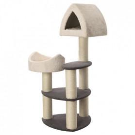TRIXIE Arbre a chat Marcy Soft - 130 cm - Creme et gris