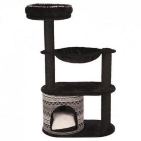 TRIXIE Arbre à chat Giada 112cm - Noir et blanc - Pour chat