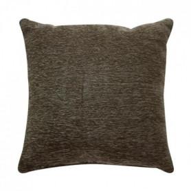Coussin Intense - 70 x 70 cm - Marron écorce