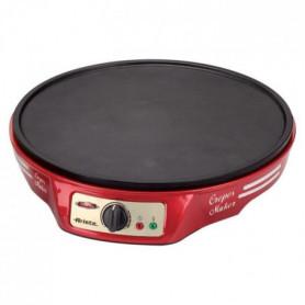 ARIETE 183 Crépiere électrique - 1000W - Rouge