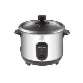 BEPER 90550 Cuiseur a riz et vapeur - Inox