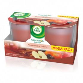 Bougie Aromatique Air Wick Pomme Rouge de Californie (pack de 2)