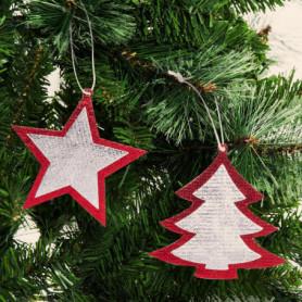 Ensemble Décorations de Noël (2 pcs) 145898