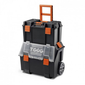 TOOD Servante boite a outils 2 en 1