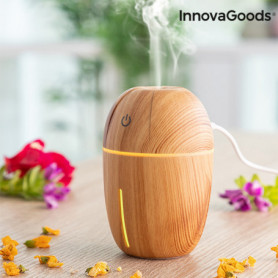 Mini humidificateur diffuseur d'arômes Honey Pine InnovaGoods