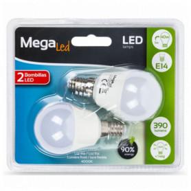 Ampoule LED Sphérique MegaLed P45-5 5W E14 4000K 390 lm Lumière blanche