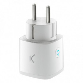 Prise Intelligente KSIX Smart Energy Mini WIFI 250V Blanc