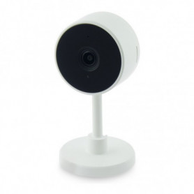Caméra IP KSIX Smart Home 2 MP 130º 128 GB WiFi Blanc