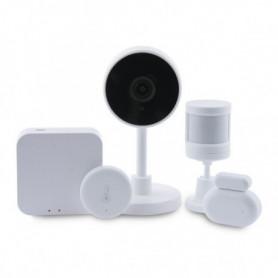Kit domotique KSIX Smart Home Zigbee WiFi (5 pcs) Blanc