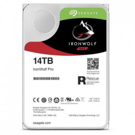 SEAGATE Disque durs IronWolf Pro ST14000NE0008