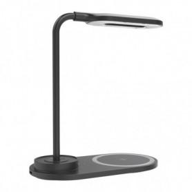 Lampe LED avec chargeur sans fil pour Smartphones KSIX 5W-10W
