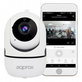 Caméra IP approx! APPIP360HDPRO 1080 px Blanc