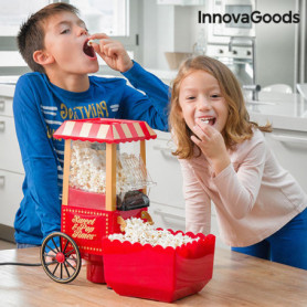 Machine à Popcorn Sweet & Pop Times InnovaGoods 1200W Rouge