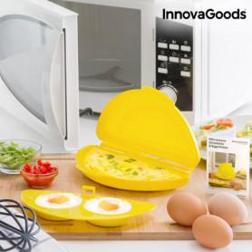 Cuiseur de Omelette pour Micro-Ondes InnovaGoods