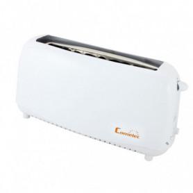 Grille-Pain avec Fonction Décongélation COMELEC TP1709 750W Blanc