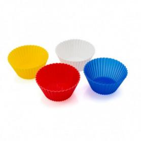 Moules en Silicone pour Cupcakes (4 pcs) 143983