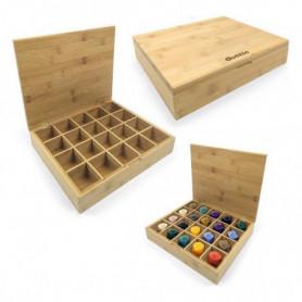 Support pour 20 capsules de café Quttin (30 x 25 x 6 cm)